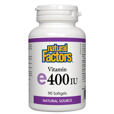 Vitamin E  Natural Source 400 IU, Softgels