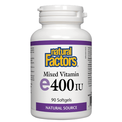 Mixed Vitamin E 400 IU, Natural Source Softgels