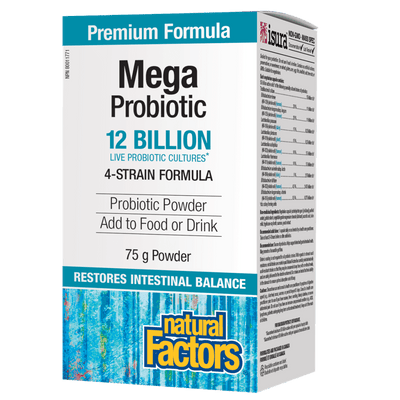 Mega Probiotic  12 Billion Live Probiotic Cultures Powder