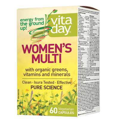 Womens Multi, VitaDay Vegetarian Capsules
