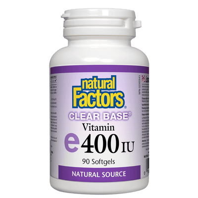 Clear Base Vitamin E 400 IU, Natural Source Softgels