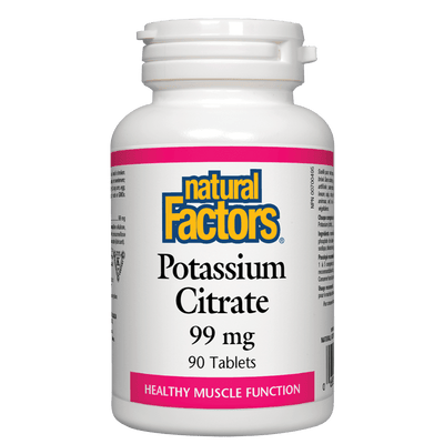 Potassium Citrate  99 mg Tablets