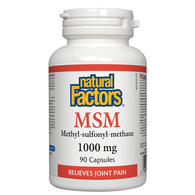 MSM Methyl-sulfonyl-methane 1000 mg Capsules