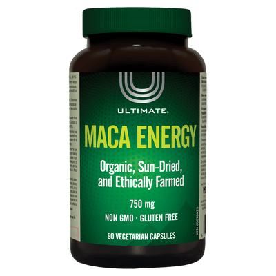 Ultimate Maca Energy 750mg Vegetarian Capsules