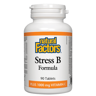Stress B Formula Plus 1000 mg Vitamin C  Tablets