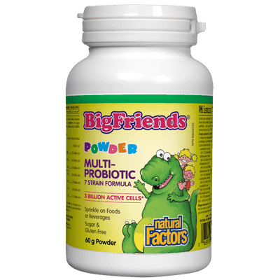 Multiprobiotic Powder 7 strain formula 3 Billion Active Cells Big Friends Powder