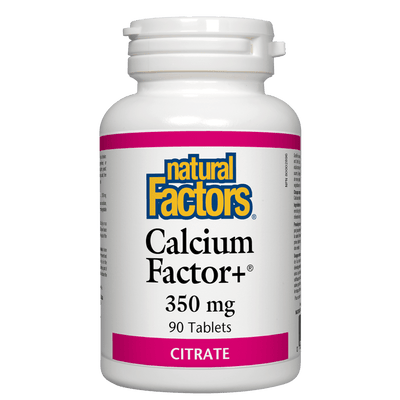 Calcium Factor+ Citrate  350 mg Tablets