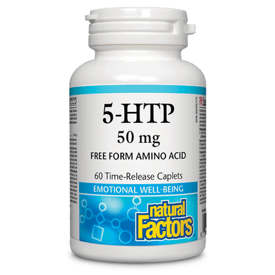 5-HTP  50 mg Time-Release Caplets