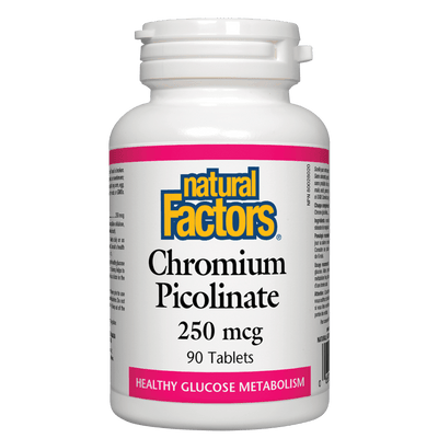 Chromium Picolinate  250 mcg Tablets