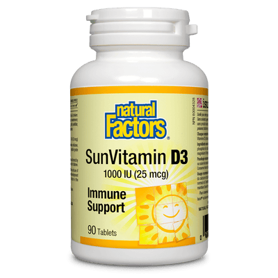 SunVitamin D3  1000IU Tablets