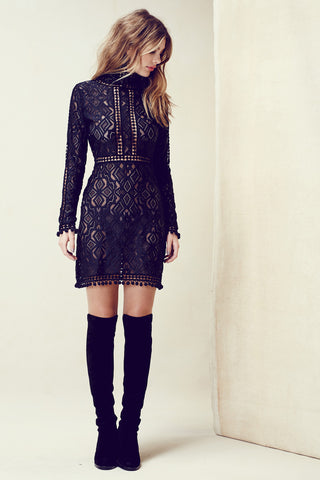 For Love and Lemons Florence Cocktail Dress