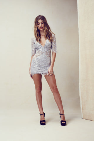 For Love and Lemons Lyla Cocktail Dress