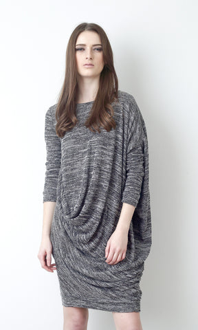 Abstract Knit Dress
