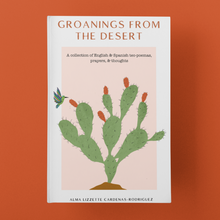 Load image into Gallery viewer, Groanings from the desert by Alma Lizzette Cárdenas-Rodríguez