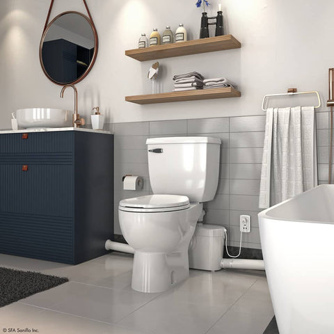 How Much Does It Cost To Add A Bathroom Saniflo Depot Upflush Toilets