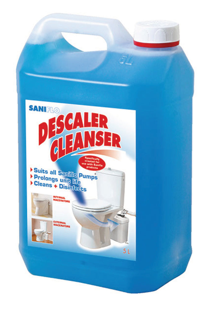 Saniflo Descaler Solution Saniflo Depot Upflush Toilets