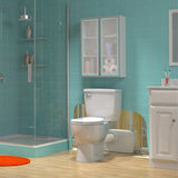 saniflo saniplus basement bathroom installation