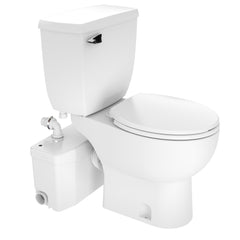 SaniPLUS Upflush Toilet KIT: Macerator Pump + Tank & Bowl