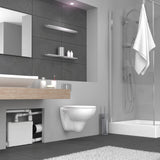 saniflo sanipack 2 upflush toilet installed