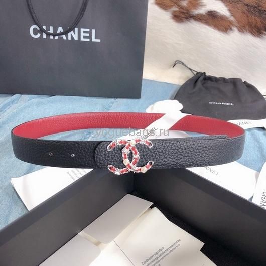 Chanel Belts Designer Chanel cc Buckle Leisure belt wide 3.0CM AA0373