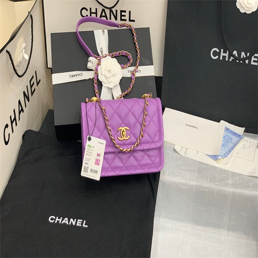Chanel AS2055 Chanel Crossbody bag Purple