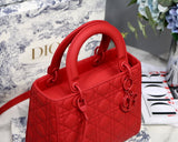 Dior M0565 Shoulder Tote Bag Red