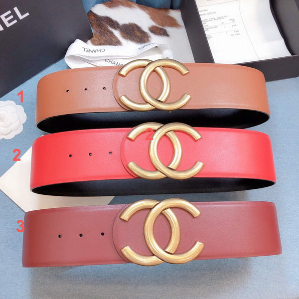 Chanel Belts Designer CC Buckle Leisure Belt Wide 7.0CM AA0450