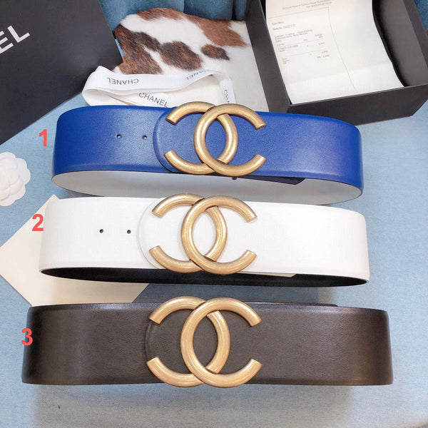 Chanel Belts Designer CC Buckle Leisure Belt Wide 7.0CM AA0451