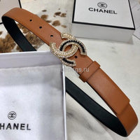 Chanel Belts Designer Chanel cc Buckle Leisure belt wide 3.0CM AA0344
