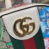 Gucci 547965 Ophidia Supreme GG small backpack White