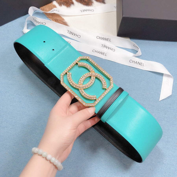 Chanel Belts Designer CC Buckle Leisure belt wide 7.0CM AA0446