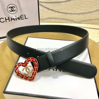 Chanel Belts Designer Chanel cc Buckle Leisure belt wide 3.0CM AA0085