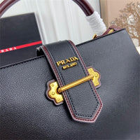 Prada 55011 New Shoulder Bag Black