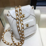 Chanel A088792 Backpacks Shoulders bag White