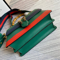 Gucci 448075 GG Dionysus medium top handle bag Green