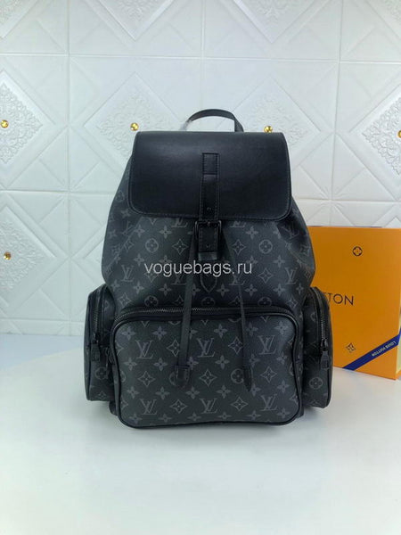 LV M43680 Louis Vuitton Trio Backpacks Monogram Black
