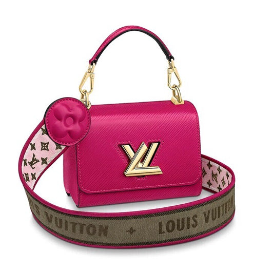 LV  M57090  M57092  Louis Vuitton Twist One Handle MM Single Bag Plum