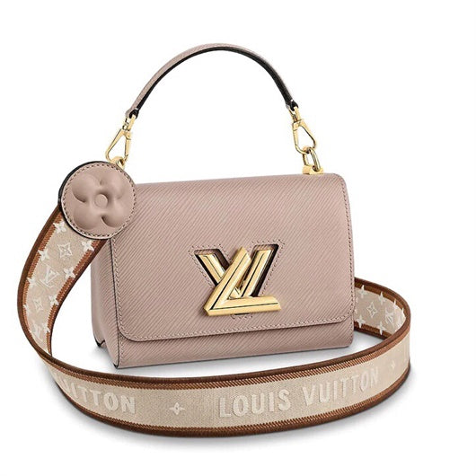 LV  M57090  M57092  Louis Vuitton Twist One Handle MM Single Bag Pink