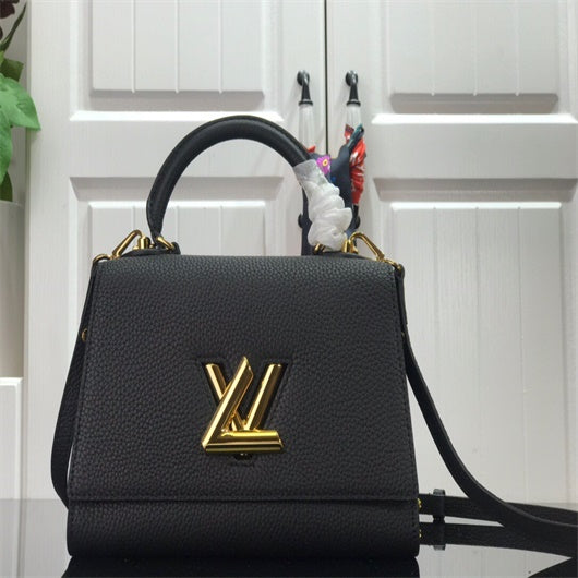 LV  M57093  Louis Vuitton Twist One Handle PM M57090 Bag Black