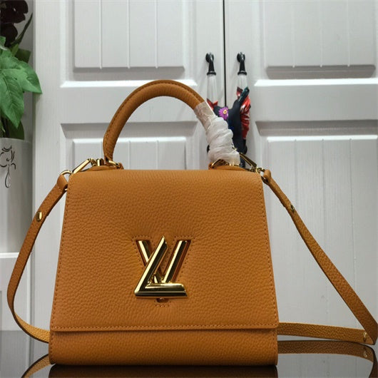 LV  M57093  Louis Vuitton Twist One Handle PM M57090 Bag Tan