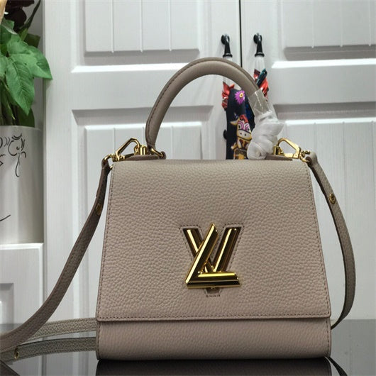 LV  M57093  Louis Vuitton Twist One Handle PM M57096 Bag Apricot