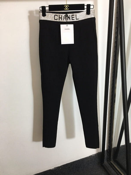 Chanel High Waist Slim Cut Pants 30002