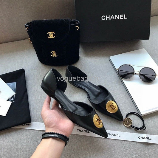 Chanel Loafers Chanel Sandals Shoes Pumps Shoes 81035