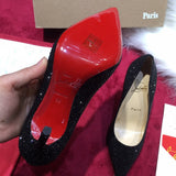 Christian Louboutin Red Sole Pumps Designer CL High Heels Shoes 81122
