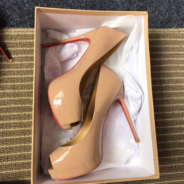 Christian Louboutin Red Sole Pumps New Very Prive Shoes 81132