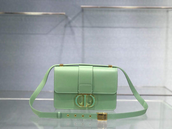 Dior M9204 Dior 30 Montaigne Box Bag Green Box Calfskin