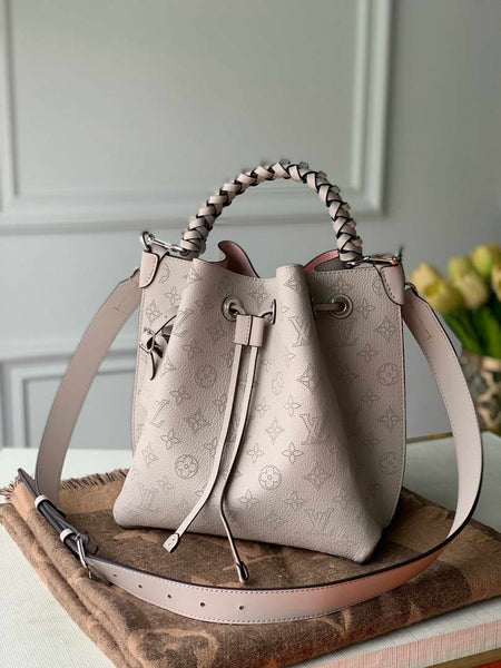 LV M55799 Louis Vuitton Muria Mahina M55800 Bag Galet Gray