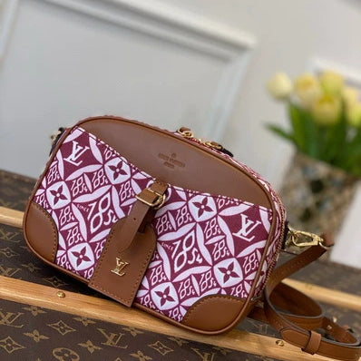 LV M57168 Louis Vuitton Since 1854 Deauville Mini Bag M57205 Bordeaux