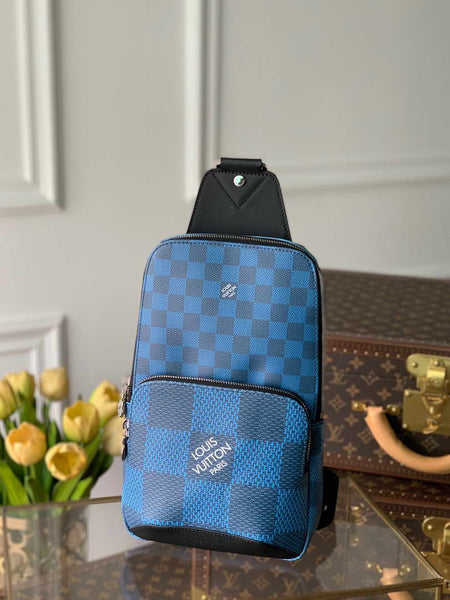 LV N40403 Louis Vuitton Avenue Sling Bag Men N41719 Backpacks Blue