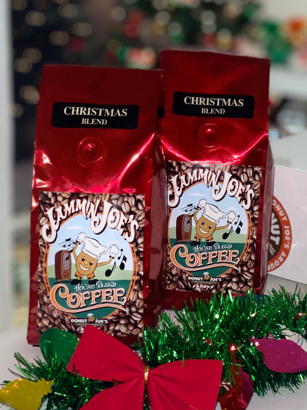 2 Bags Donut Joe's®️ Christmas Blend Coffee